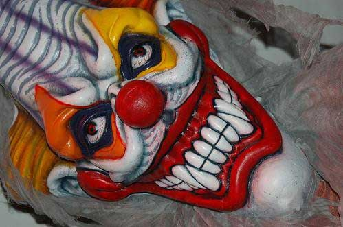 nasty clown