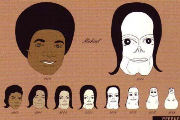 Michael Jackson Evolution | Hornoxe Picdump #99