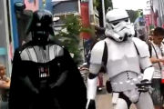 Dance Vader vs Dance Trooper