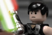 Lego Star Wars Kampf - Stop Motion