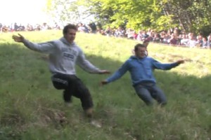 Gloucestershire Cheese Rolling 2013