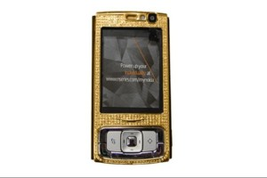 Nokia N95 – 24k Classic Gold and Diamonds