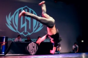 Bboy Pocket beim Breakdance