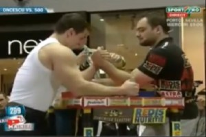 Arm Wrestler vs. Bodybuilder