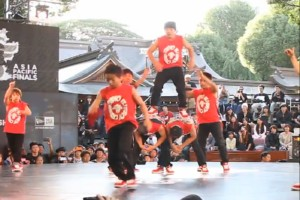 Breakdance aus Japan