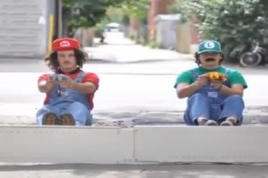 Mario Kart in Real Life – Stop Motion
