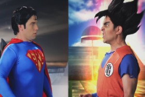 Goku vs. Superman - Epic Rap Battle