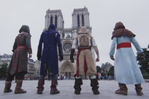 Assassin's Creed Parkour in Paris