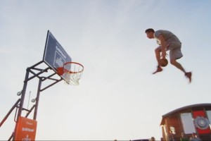Basketball Freestyle Dunks