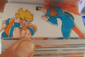 Goku vs. Superman – Daumenkino