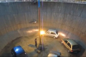 Wall of Death in Indien