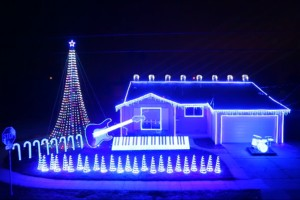 Star Wars Christmas Lights Show