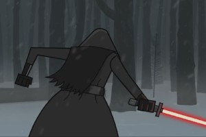 Star Wars Episode VII – Leaked Lightsaber Fight