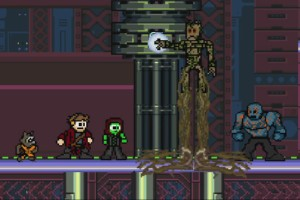 Guardians of the Galaxy - 8 Bit Style
