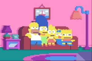 Simpsons Intro - Pixel Version