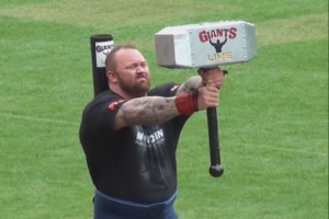 Europas stärkster Mann - Hafthor Bjornsson aka The Mountain