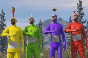 Teletubbies Intro in GTA 5