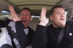 Carpool Karaoke mit Chris Martin