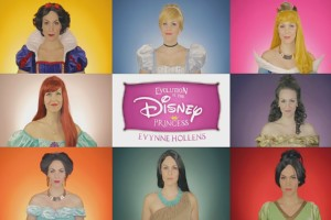 Evolution der Disney Prinzessinnen