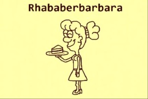 Rhabarber-Barbara-Bar