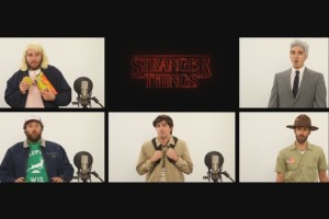 Stranger Things - Theme | A cappella