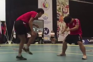 Double Dutch Profi Seilspringer