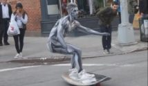 Silver Surfer in New York unterwegs
