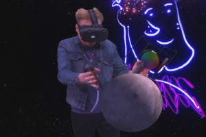 Conan im YouTube VR Lab
