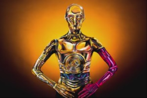 Star Wars C-3PO Body Paint
