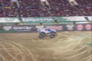 Monstertruck Front Flip