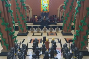 Game of Thrones - Red Keep in Lego
