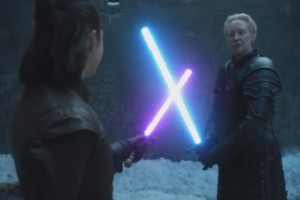 Arya vs. Brienne - Lightsaber Duel