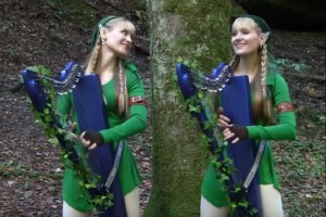 The Legend of Zelda - Lost Woods | Harp Twins