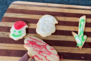 Christmas Sugar Cookies - You Suck at Cooking