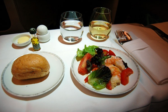 Singapore Airlines Business Class Airbus A380 Sydney route - Singapore.jpg