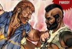 Chuck Norris vs Mr. T | Hornoxe Pics #93